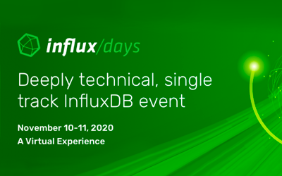 Join Us for InfluxDays North America 2020
