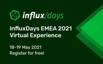 Announcement: Register for InfluxDays EMEA 2021